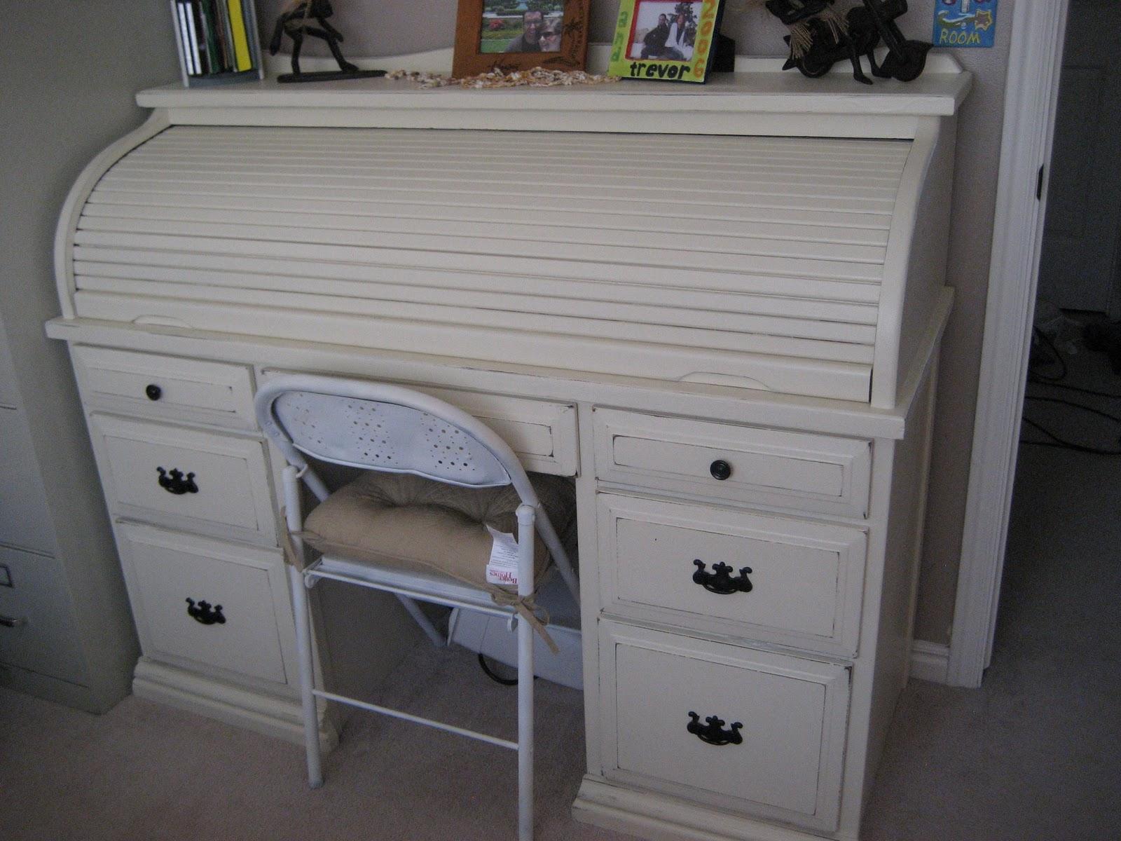 a7e5819947d2e Paint Me Shabby  Roll-Top Desk