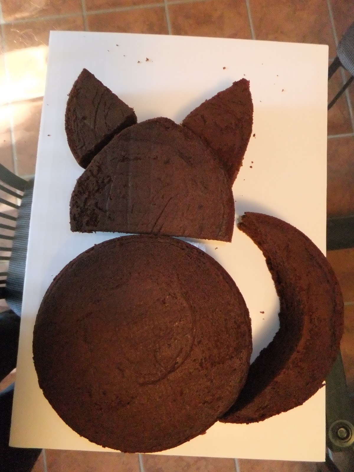 Witchery In The Kitchen Cat Cake