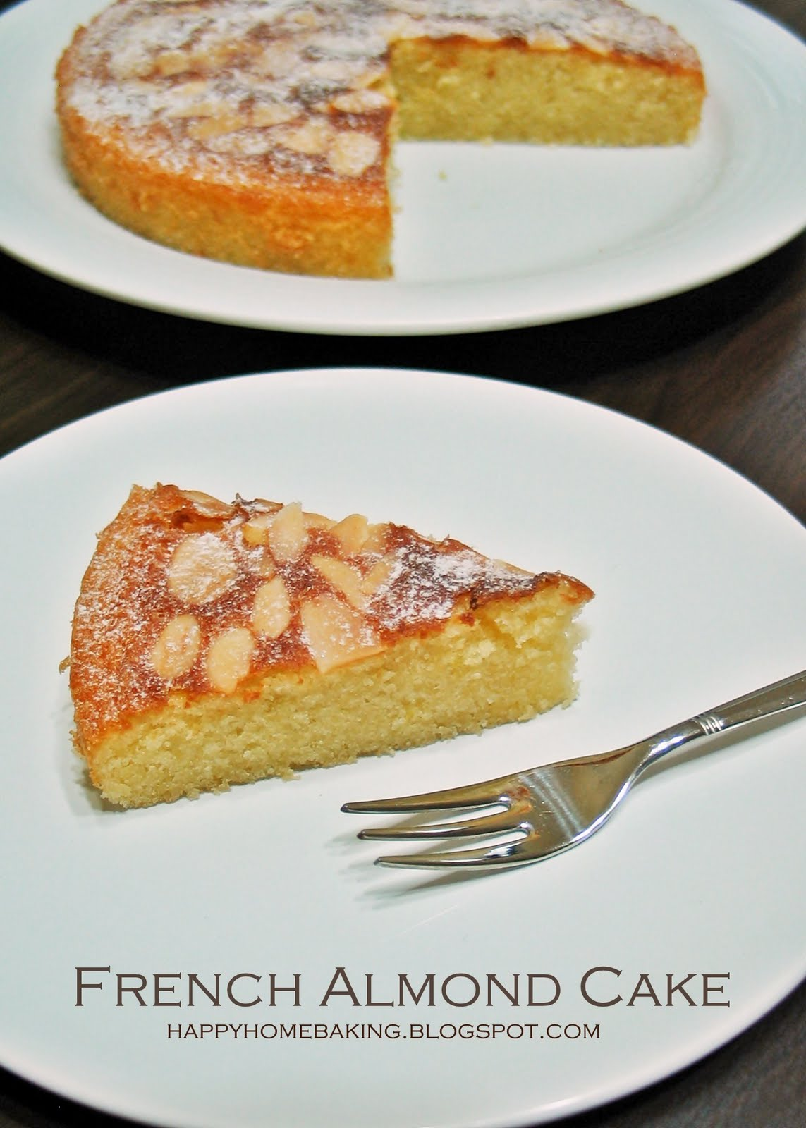 Almond Tea Cake Tartine