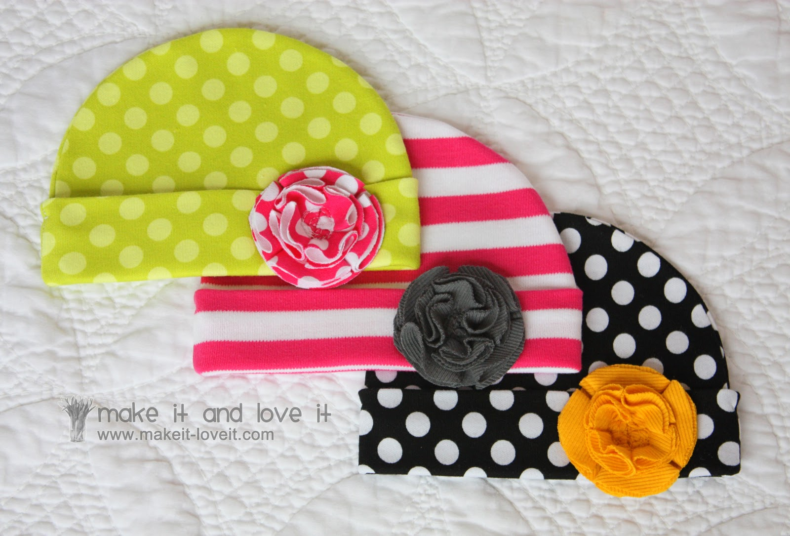 Online Inspiration Baby Blanket And Hats Knit Fabric