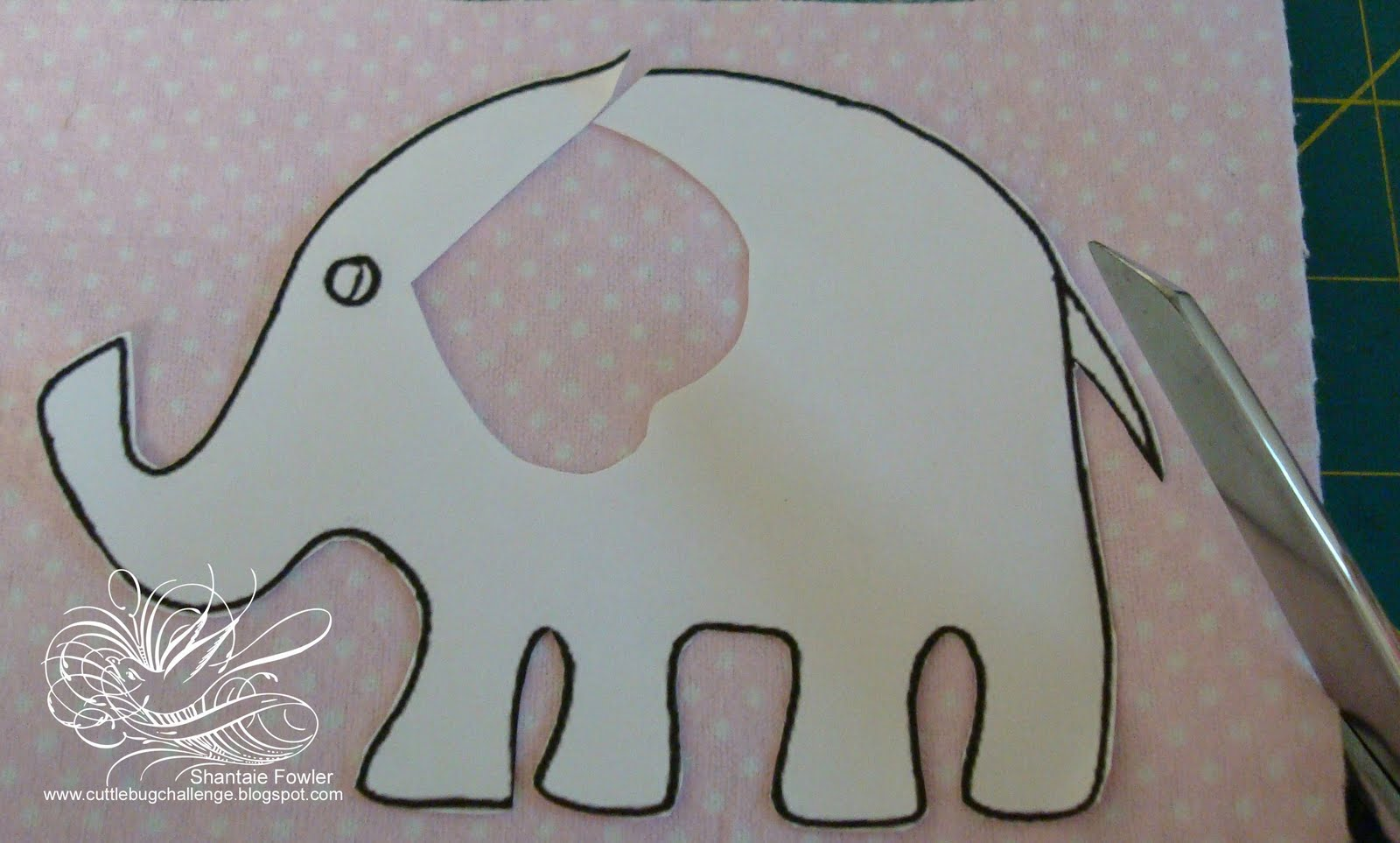 Showing (19) Pics For Elephant Template Cut Out...
