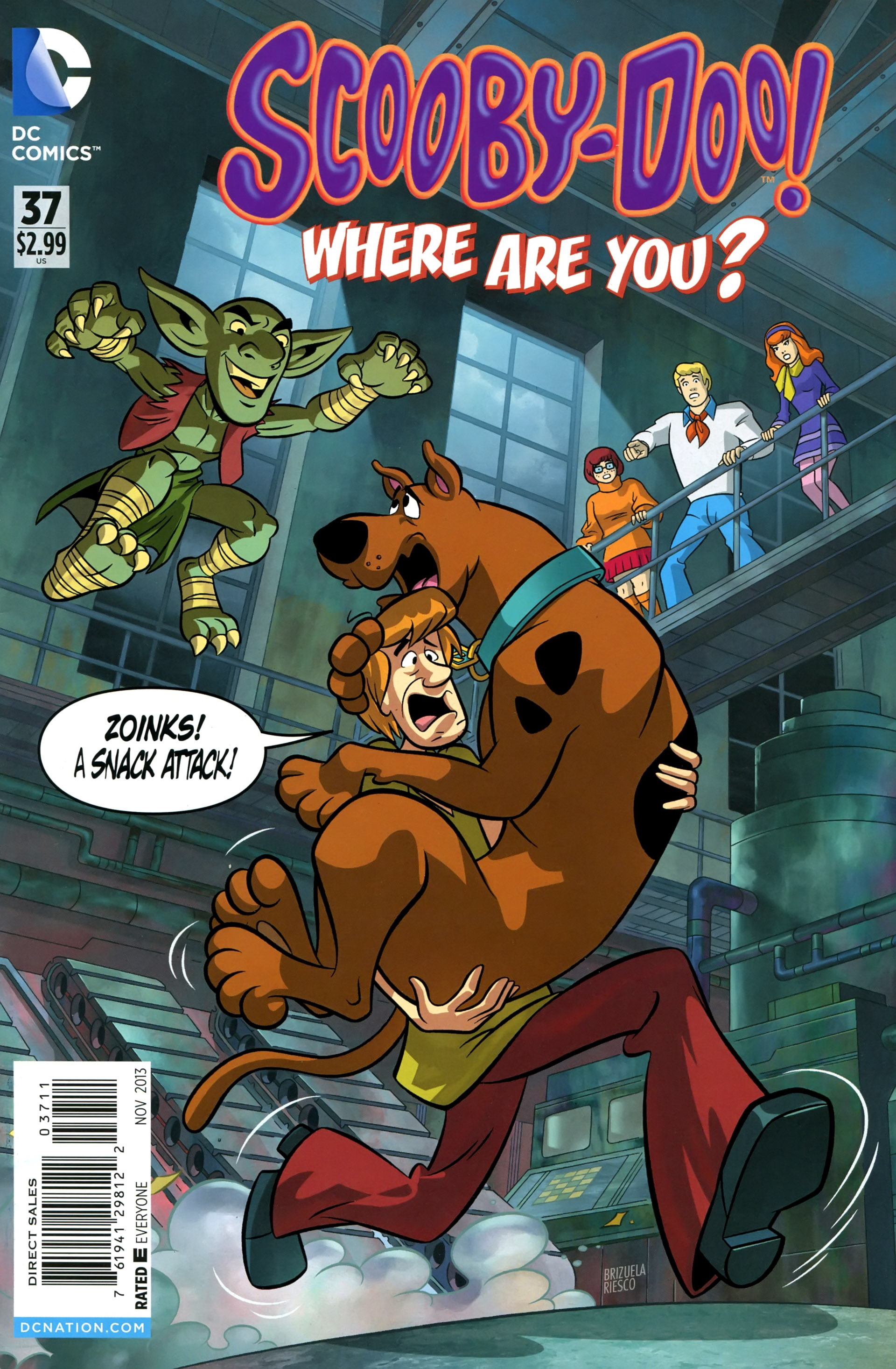 Read online Scooby-Doo: Where Are You? comic -  Issue #37 - 1