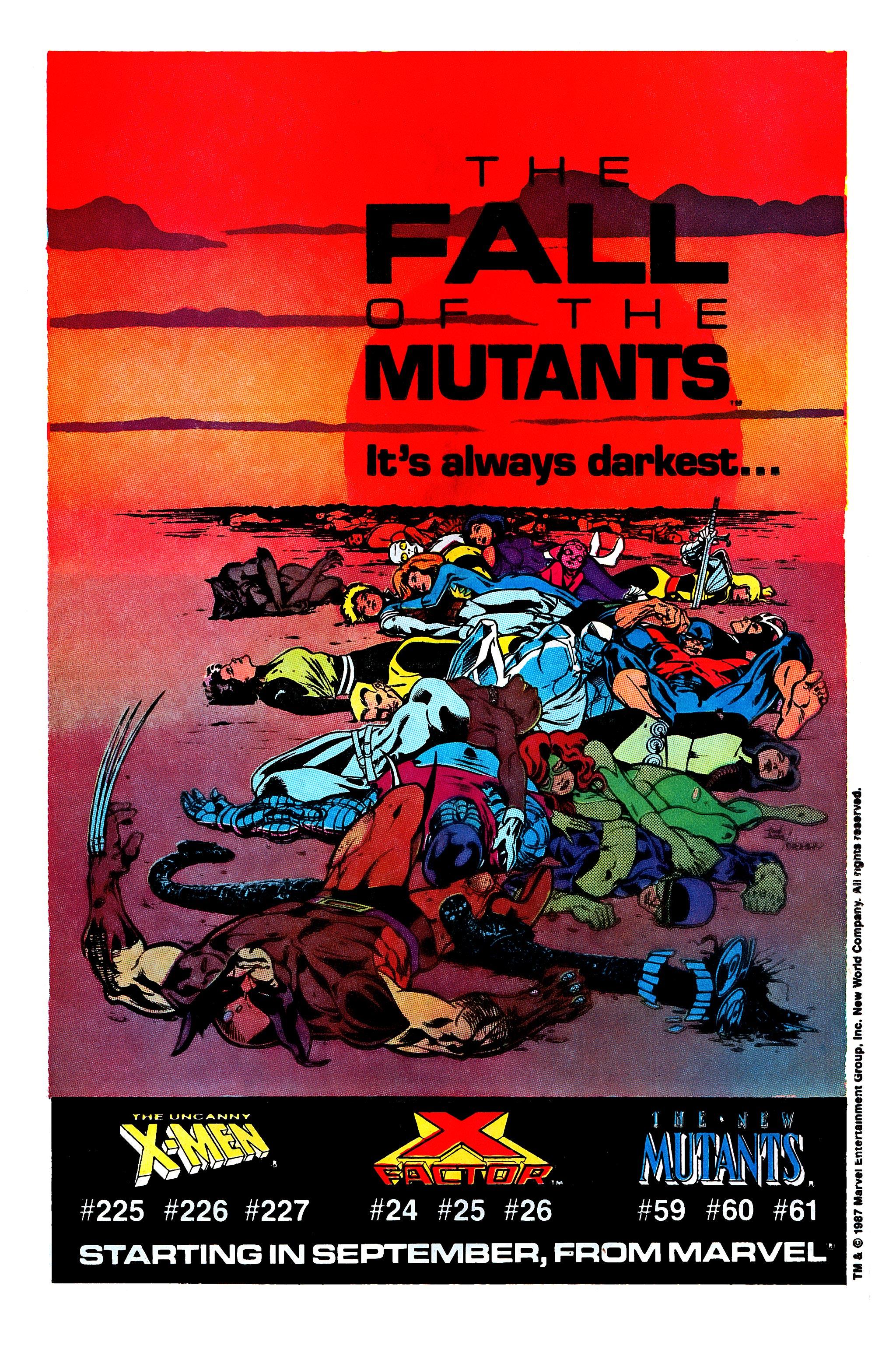 Read online Uncanny X-Men (1963) comic -  Issue #224 - 17