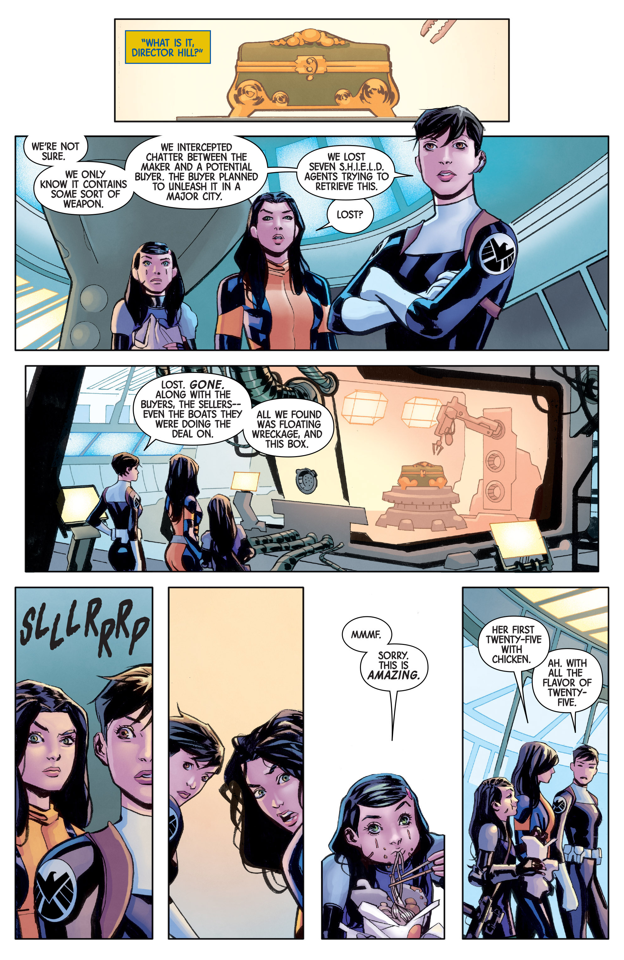 Read online All-New Wolverine (2016) comic -  Issue #8 - 13