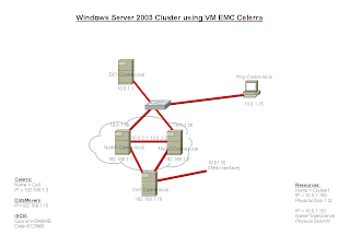 Roggy: Windows 2003 Clustering with EMC Celerra VM