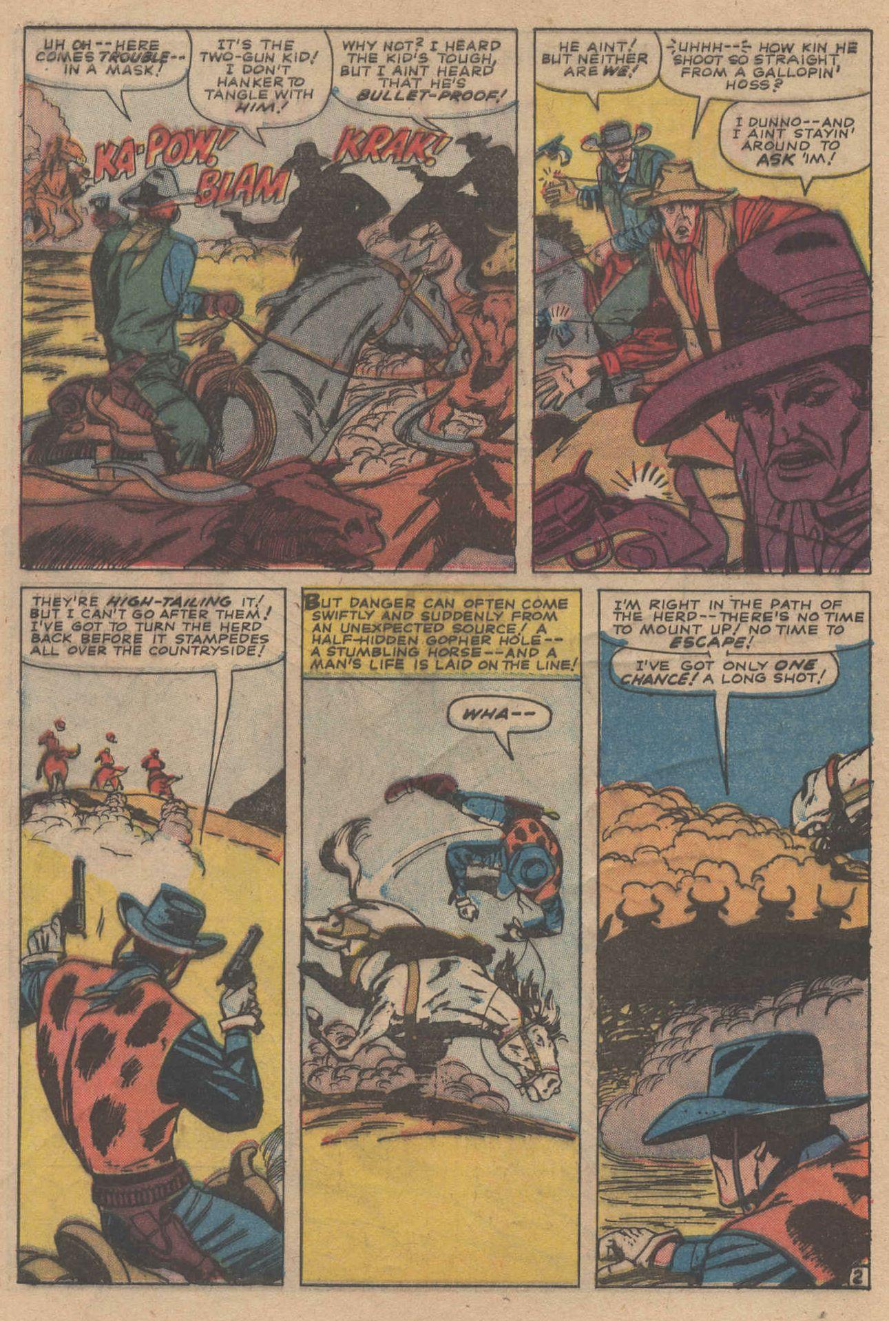 Read online Two-Gun Kid comic -  Issue #83 - 4