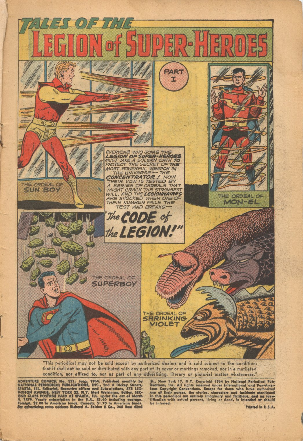 Read online Adventure Comics (1938) comic -  Issue #321 - 3