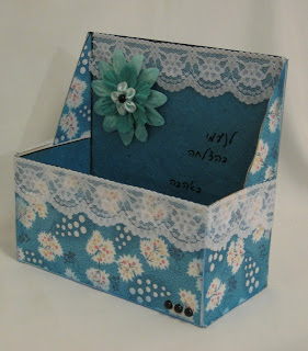 I'm the winner for my pearl & lace box