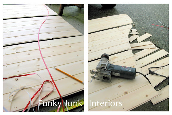 Make your own old wooden gate window screens via https://www.funkyjunkinteriors.net/