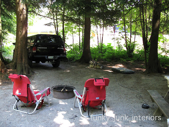 Camping with the travel trailer at Hope Valley Campground in Hope, British Columbia Canada!