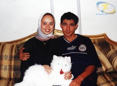 لاعبى منتخب زوجاتهم صورة بركات زوجته احمد فتحى احمد زوجته واولاده حسام غالى
