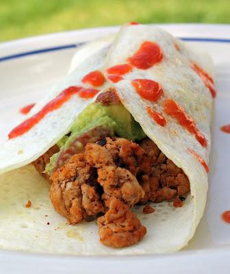 """Breakfast """"Burrito"""" Omelete"""