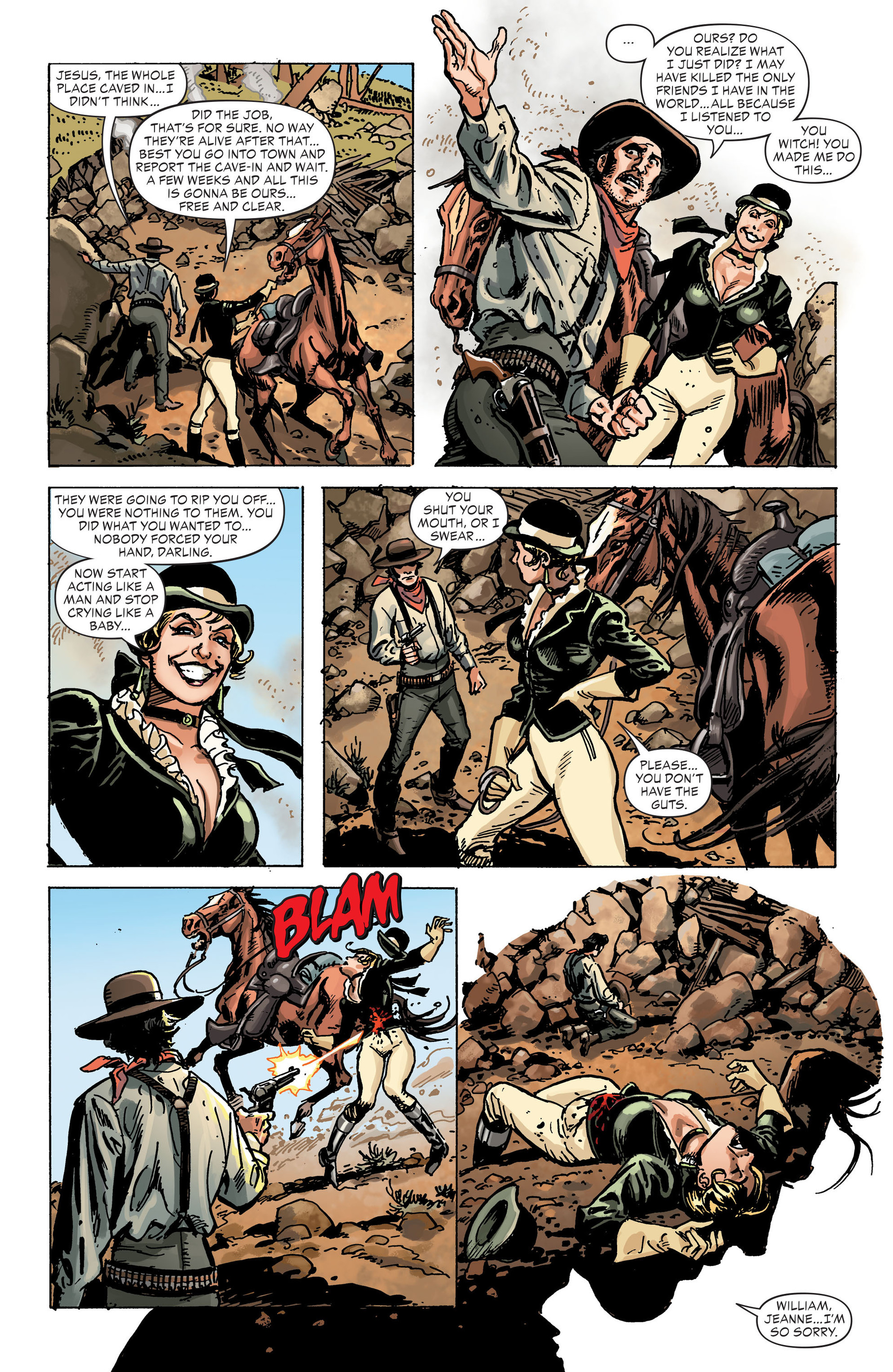 Read online All-Star Western (2011) comic -  Issue #30 - 22