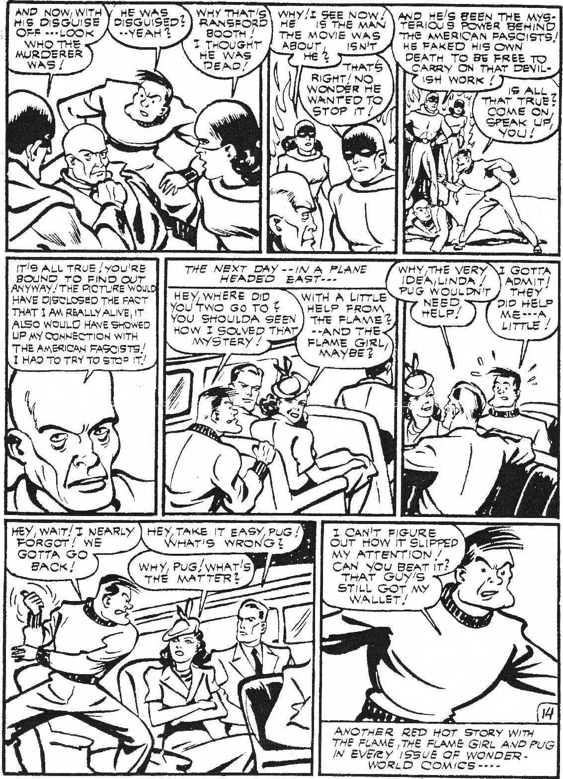 Read online Men of Mystery Comics comic -  Issue #74 - 36