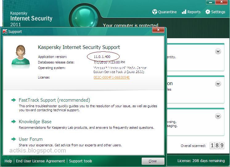 kaspersky internet security premium apk activation code