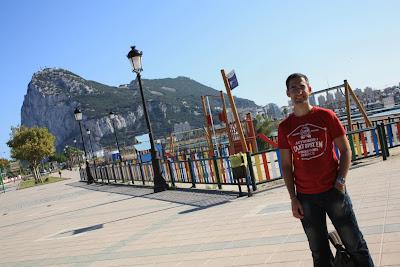 Gibraltar Rock from La Línea de la Concepción