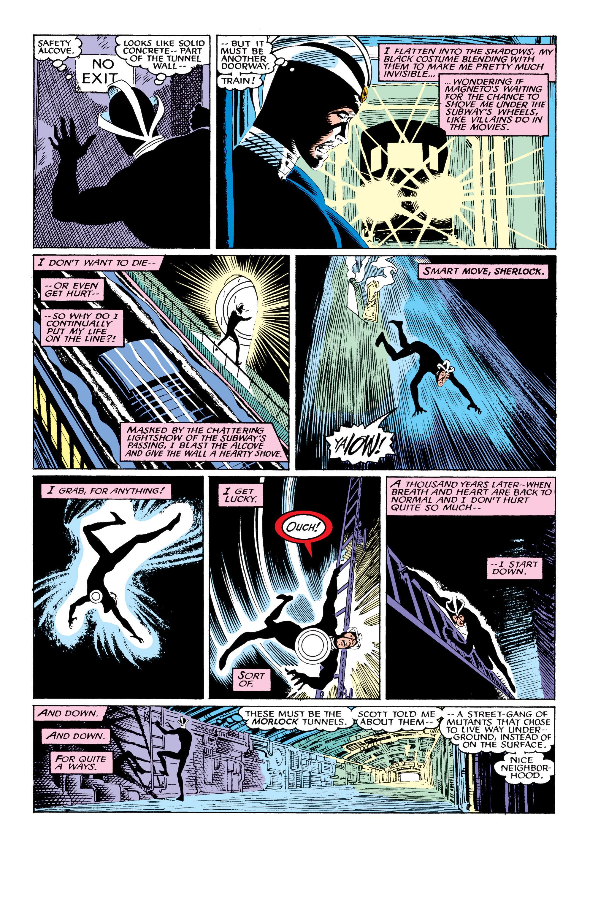 Read online Uncanny X-Men (1963) comic -  Issue #219 - 17