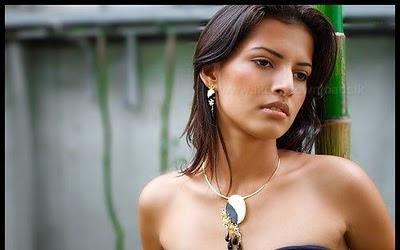 Sri Lankan Actress Olvia Major