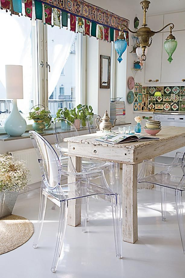 Shabby Chic Dining Room Decor