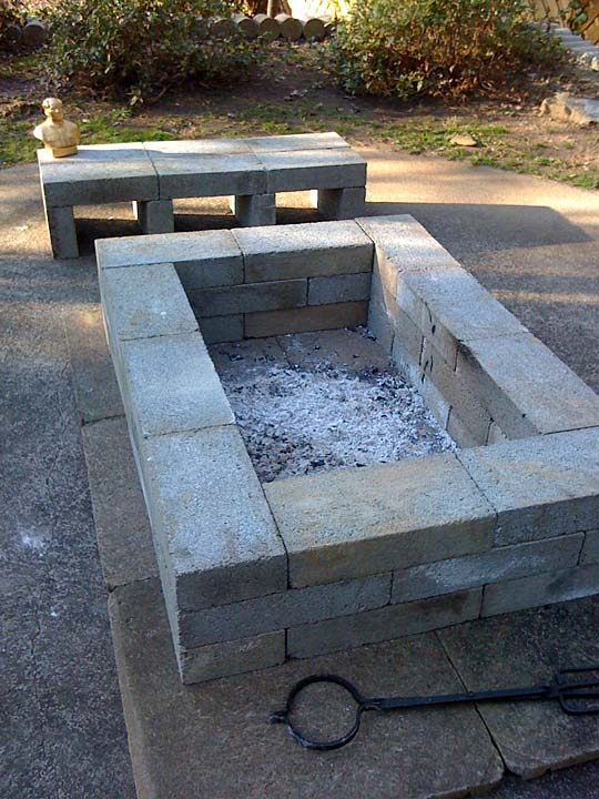 Attachment Prone: DIY Fire Pit on Simple Cinder Block Fireplace id=41013