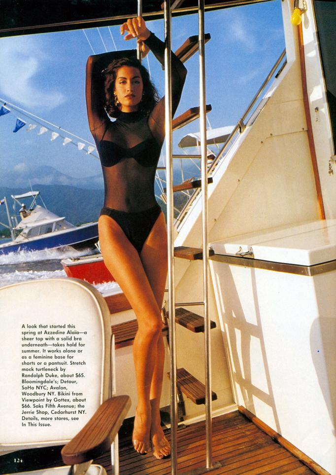 Bikini Yasmeen Ghauri CAN 21996-1997 nudes (15 photos) Young, Twitter, in bikini