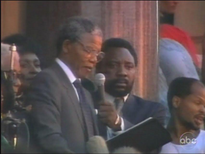 Nelson mandela monologue speech