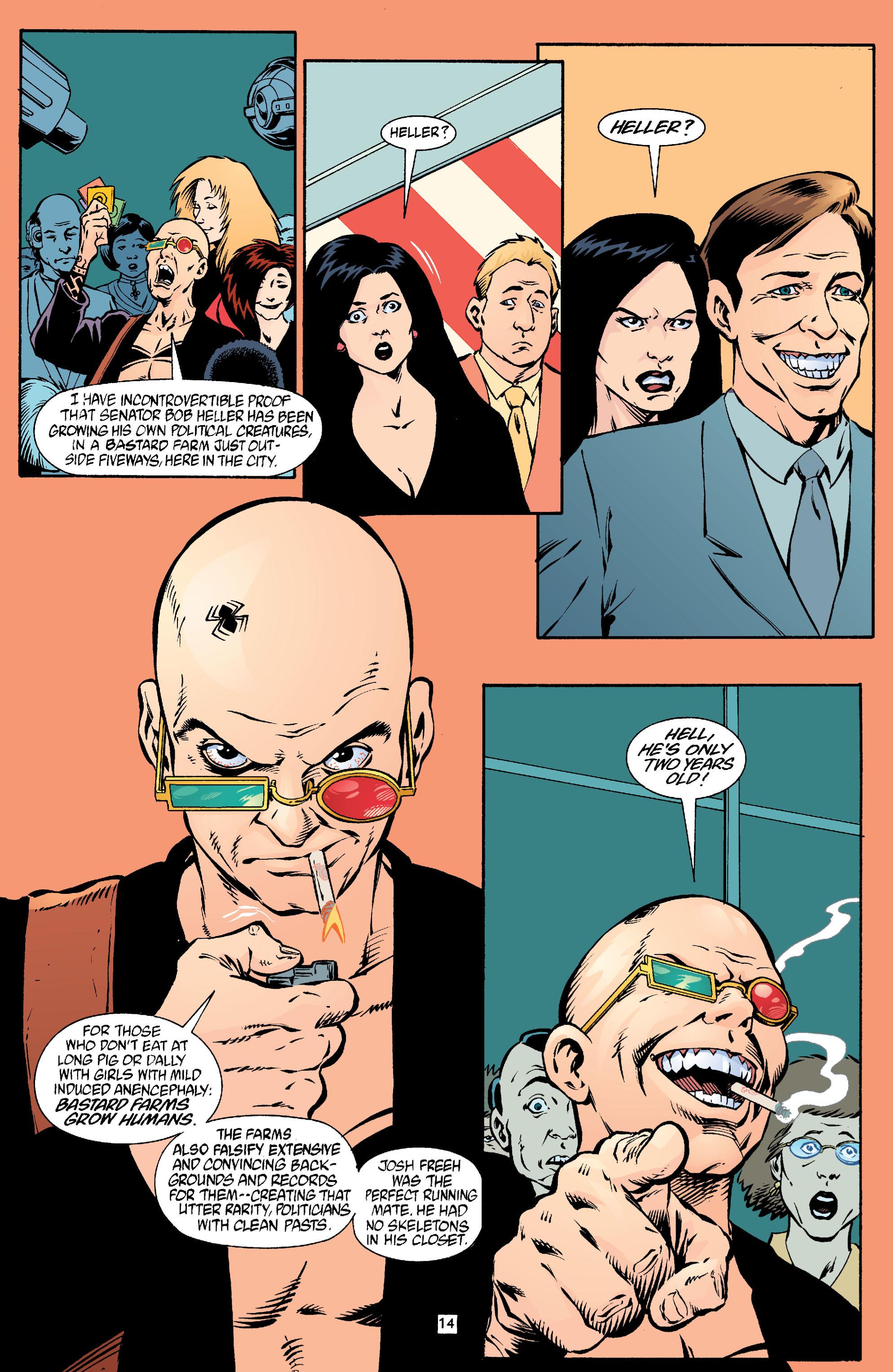 Read online Transmetropolitan comic -  Issue #18 - 15