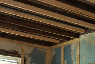 Rehab Or Die Ceiling Joists Reinforced Wetwall Plans