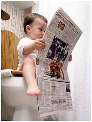 bayi aja membaca