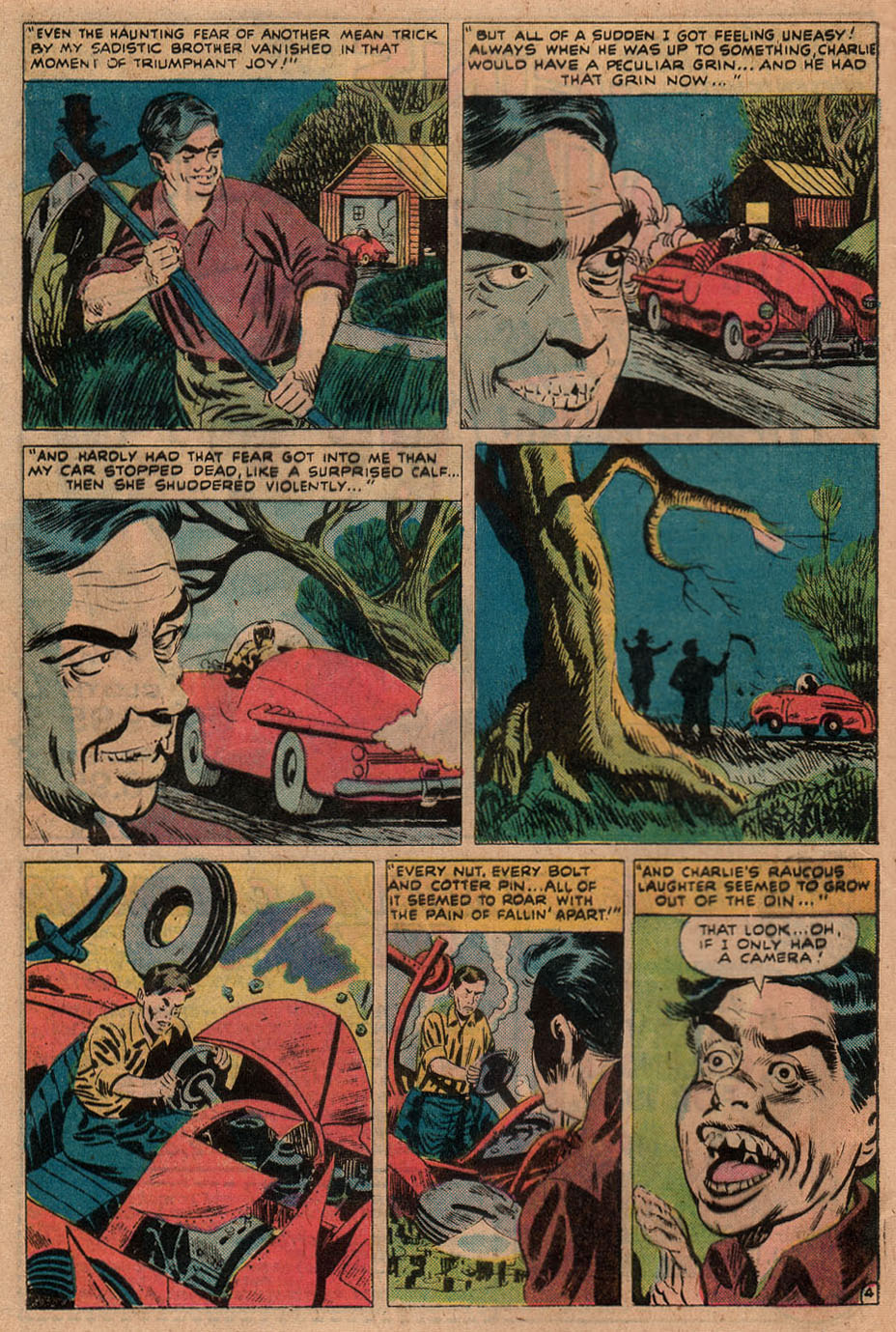 Read online Adventures into Weird Worlds comic -  Issue #9 - 20