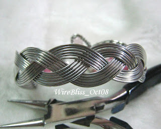 Facing the Cobra - Braided Bracelet