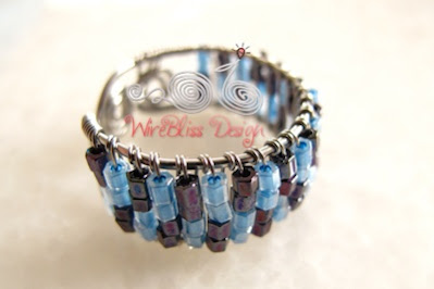 Japanese Bead Adjustable Ring