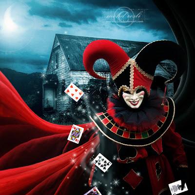 Insane image - Circus joker wallpaper ...