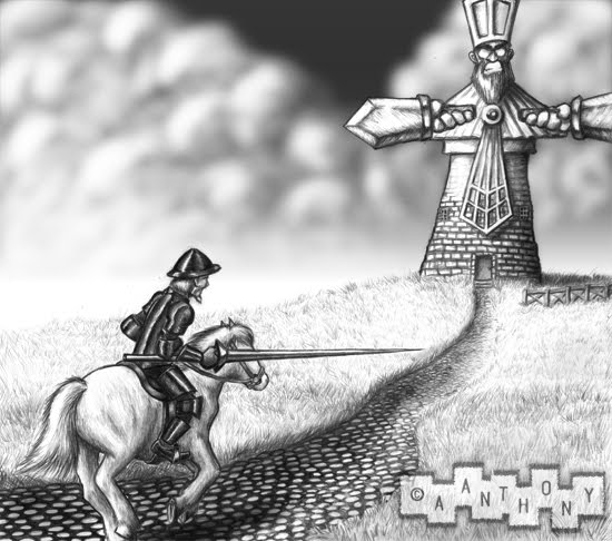 """idealism in don quixote Knight of the green coat reacted, to his meeting with don quixote, in a  the  word 'quixotic' its modern meaning """"idealistic and unrealistic""""2."""