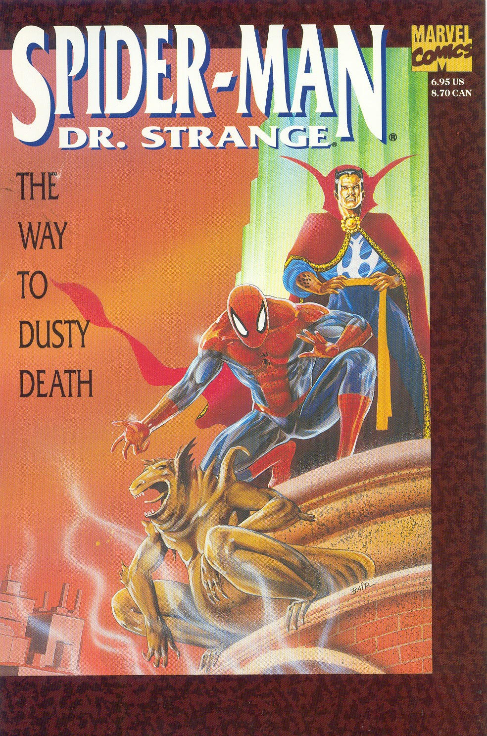 Spider-Man/Dr. Strange: The Way to Dusty Death issue Full - Page 1