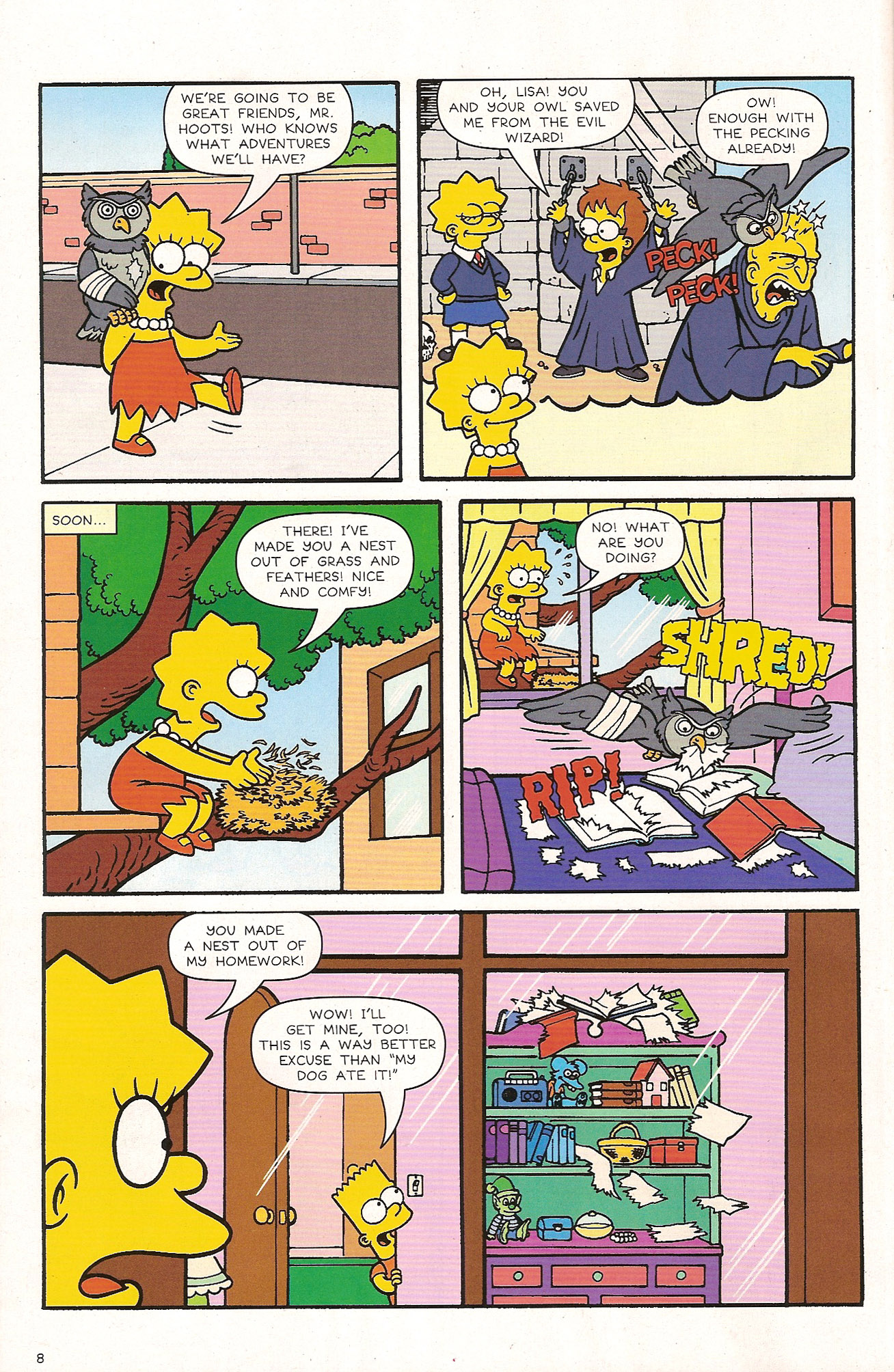 Read online Simpsons Comics comic -  Issue #174 - 10