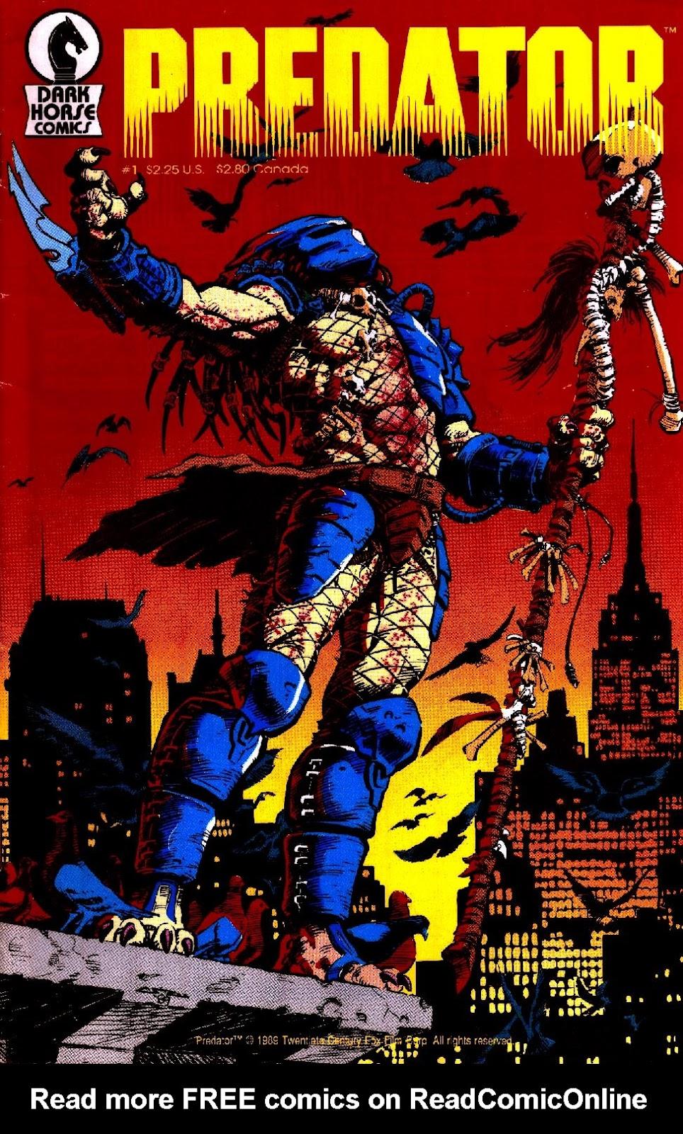 Predator (1989) issue 1 - Page 1