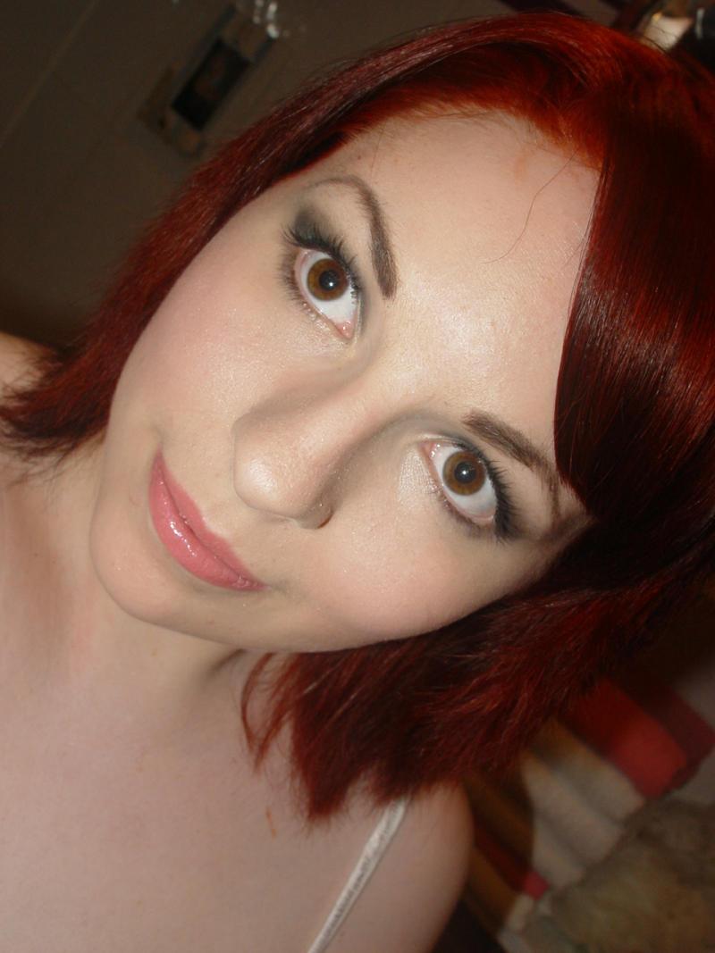 haare rot farben ohne blondierung