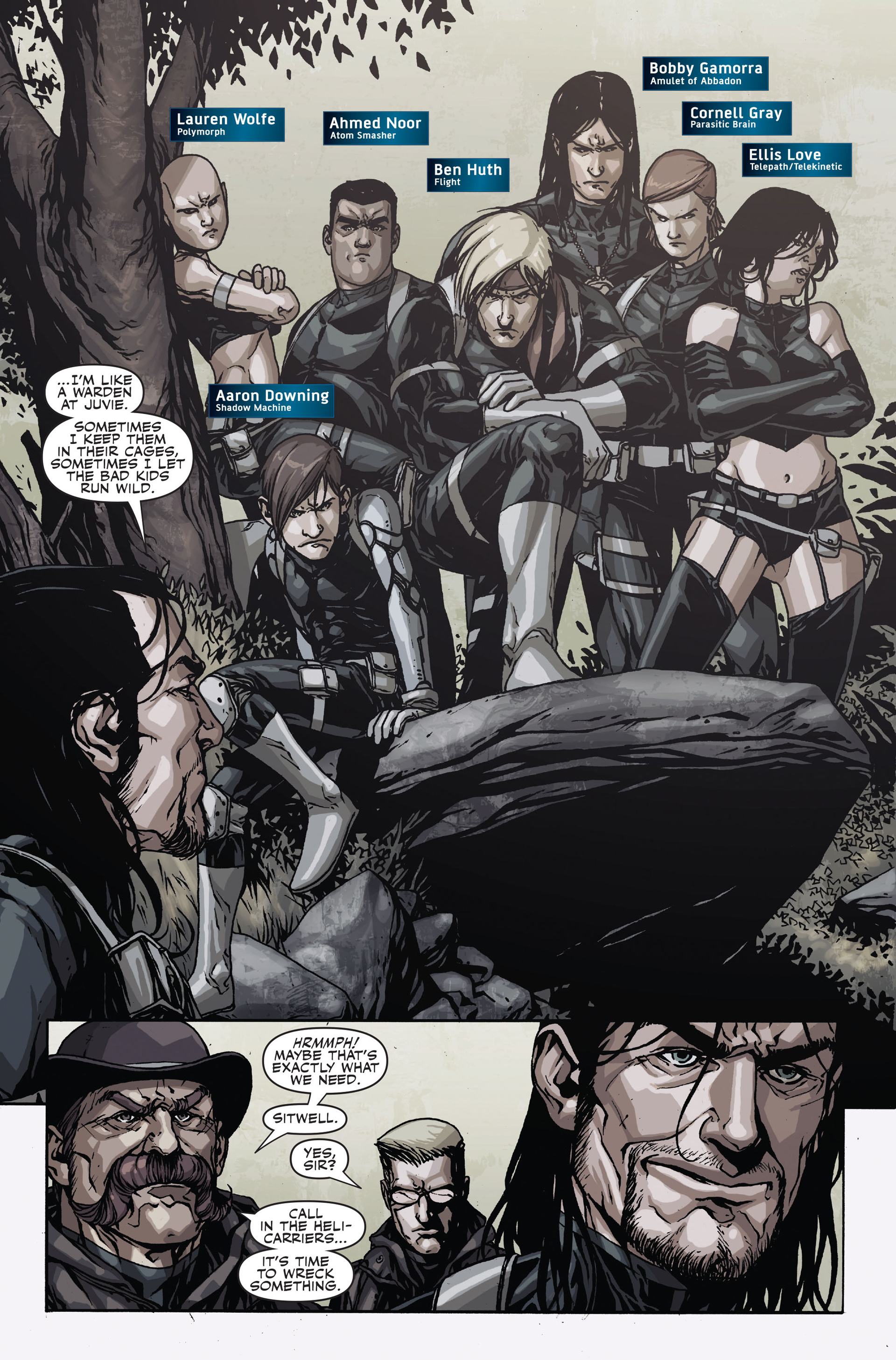 Read online Secret Warriors comic -  Issue #17 - 19