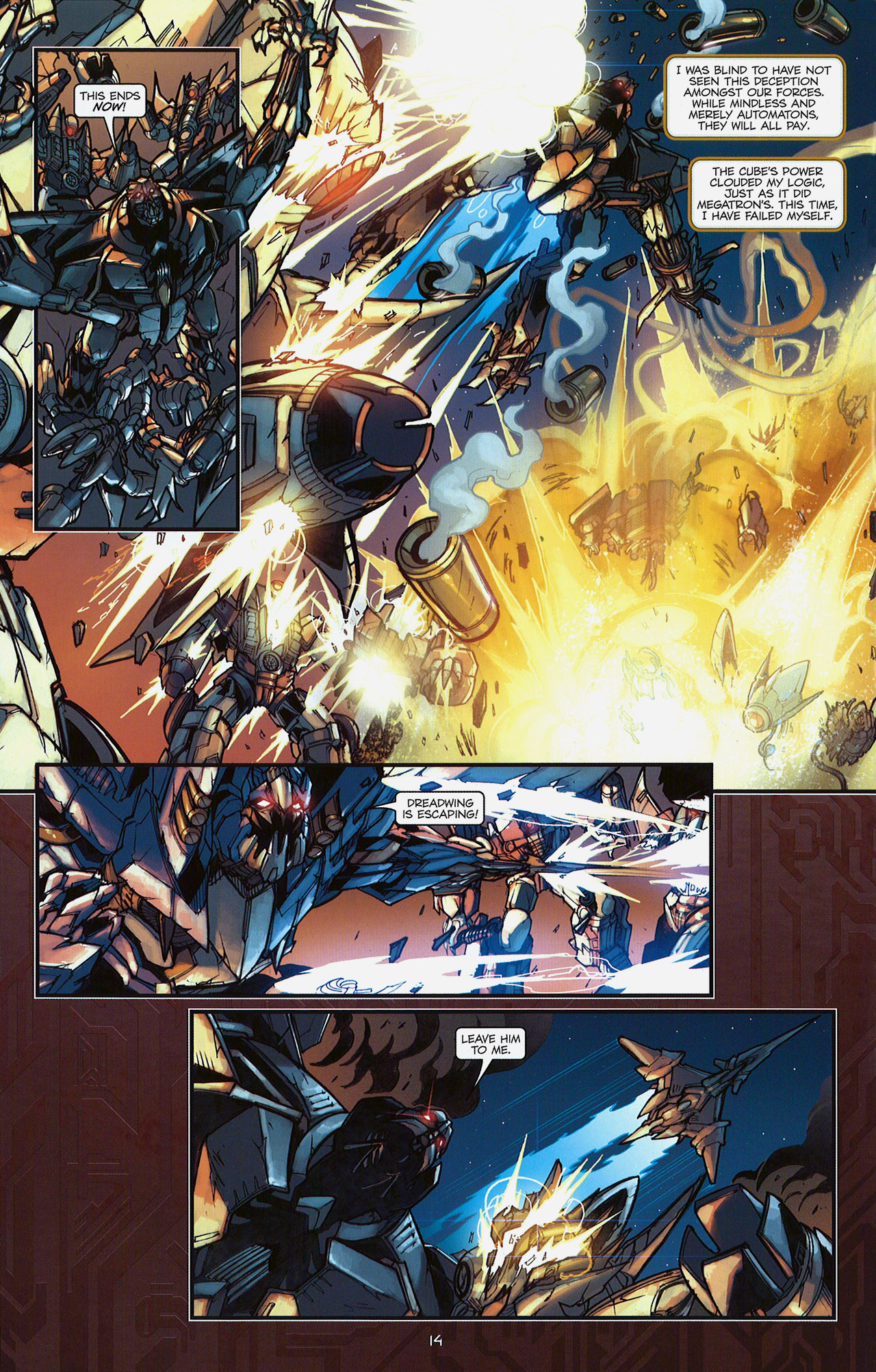 Read online Transformers: The Reign of Starscream comic -  Issue #5 - 17