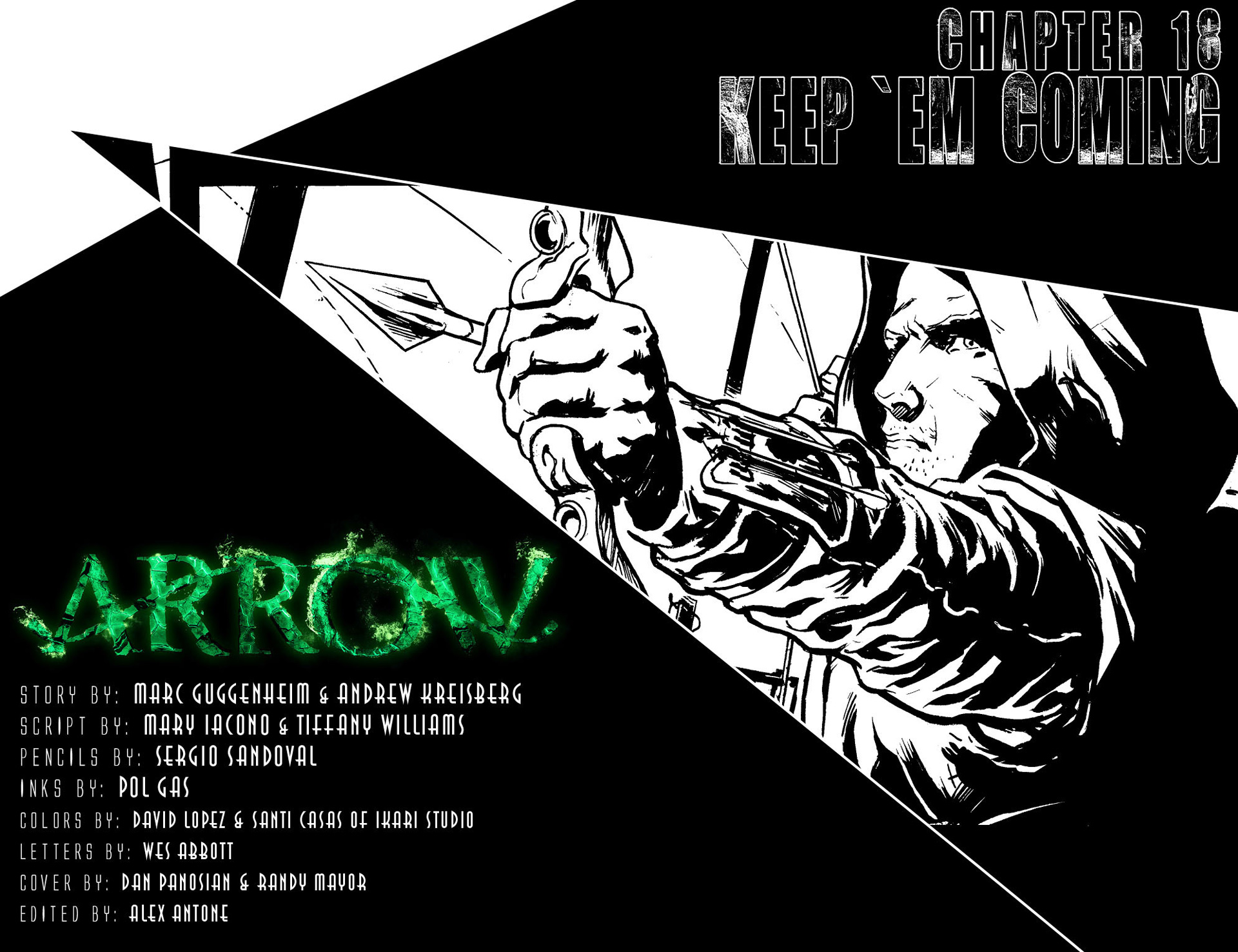 Read online Arrow [II] comic -  Issue #18 - 2
