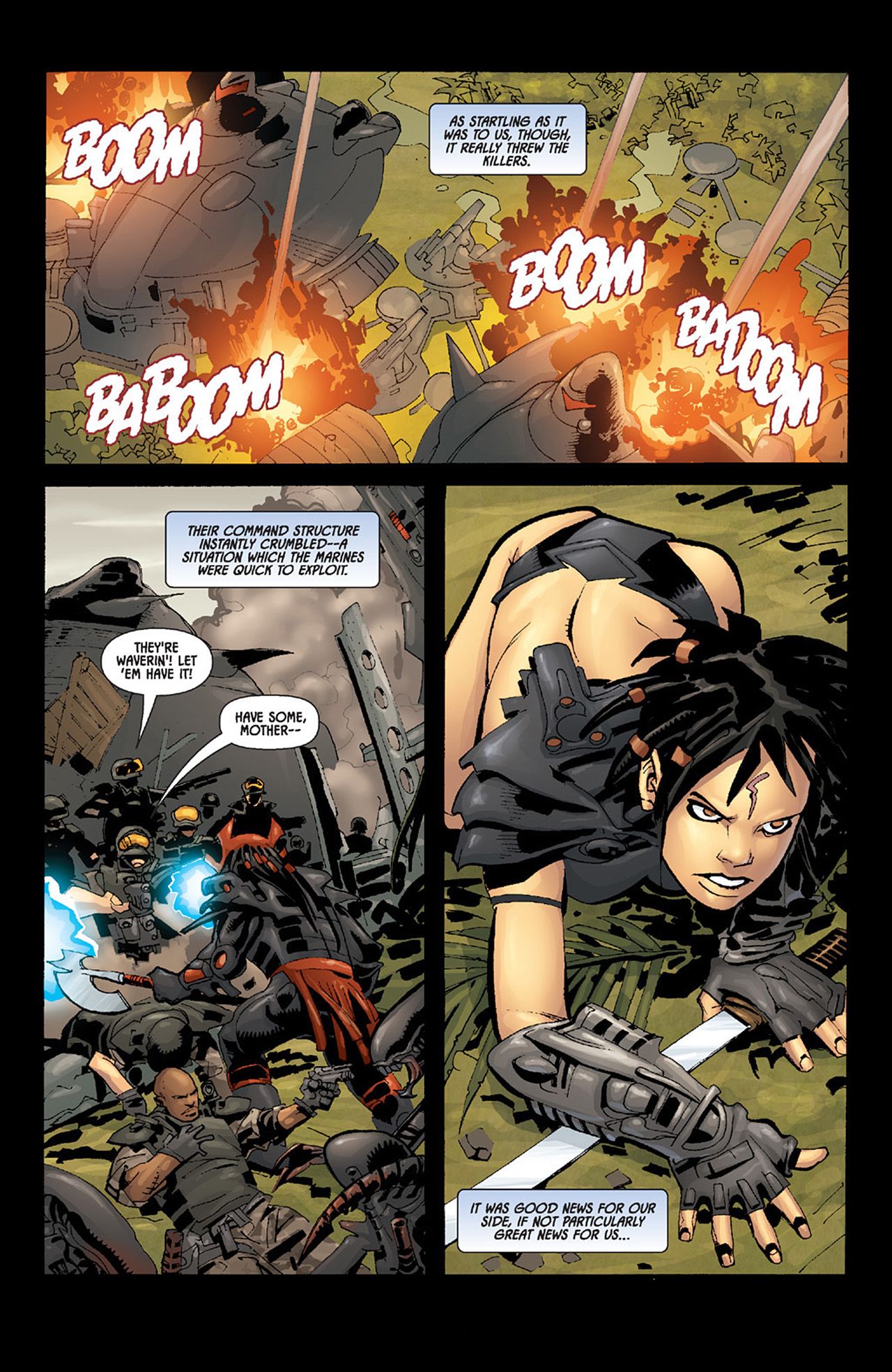 Read online Aliens vs. Predator: Three World War comic -  Issue #6 - 17
