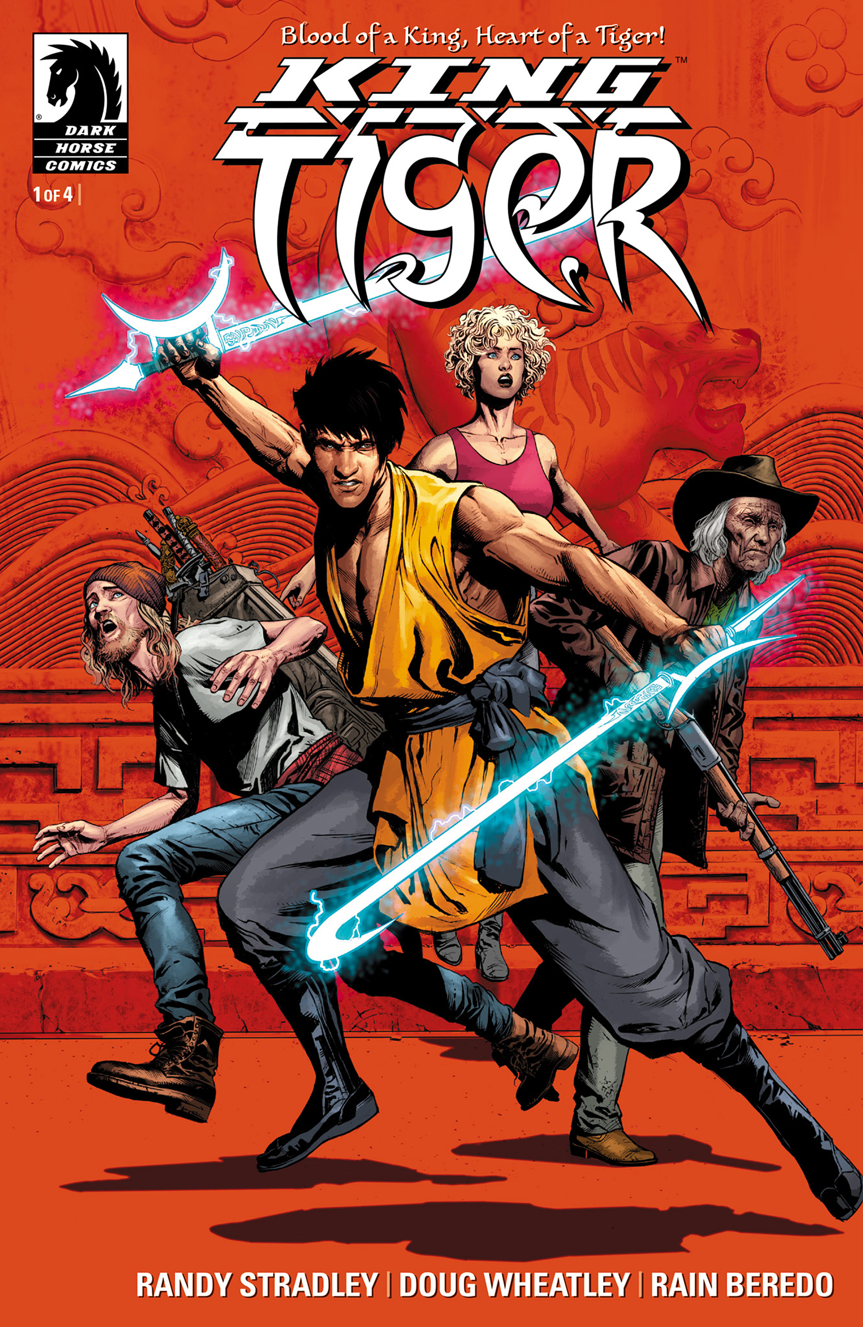 Read online King Tiger comic -  Issue #1 - 1