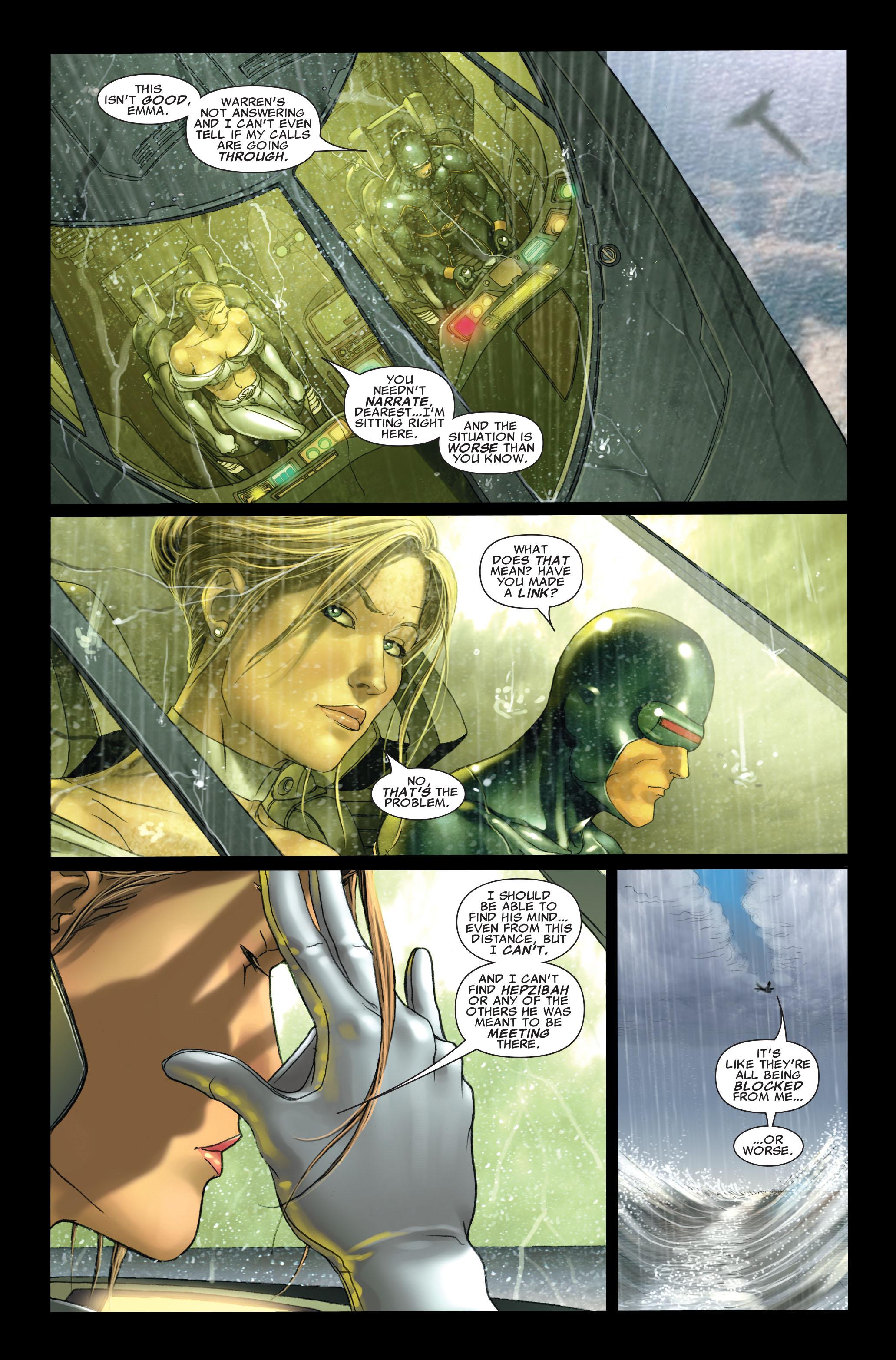 Read online Uncanny X-Men (1963) comic -  Issue #496 - 6