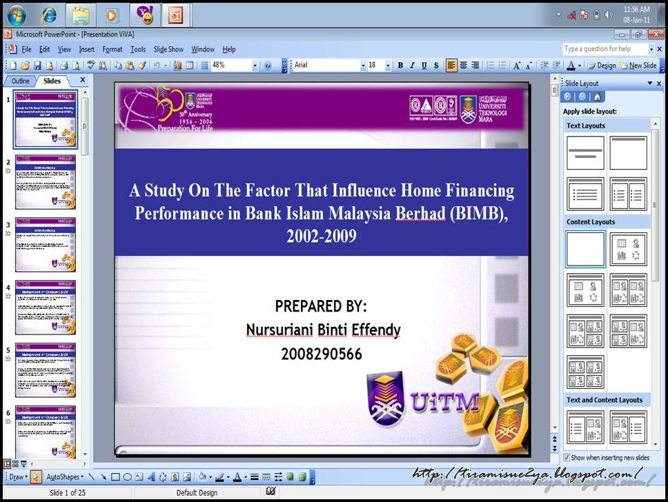 Tajuk thesis islamic banking