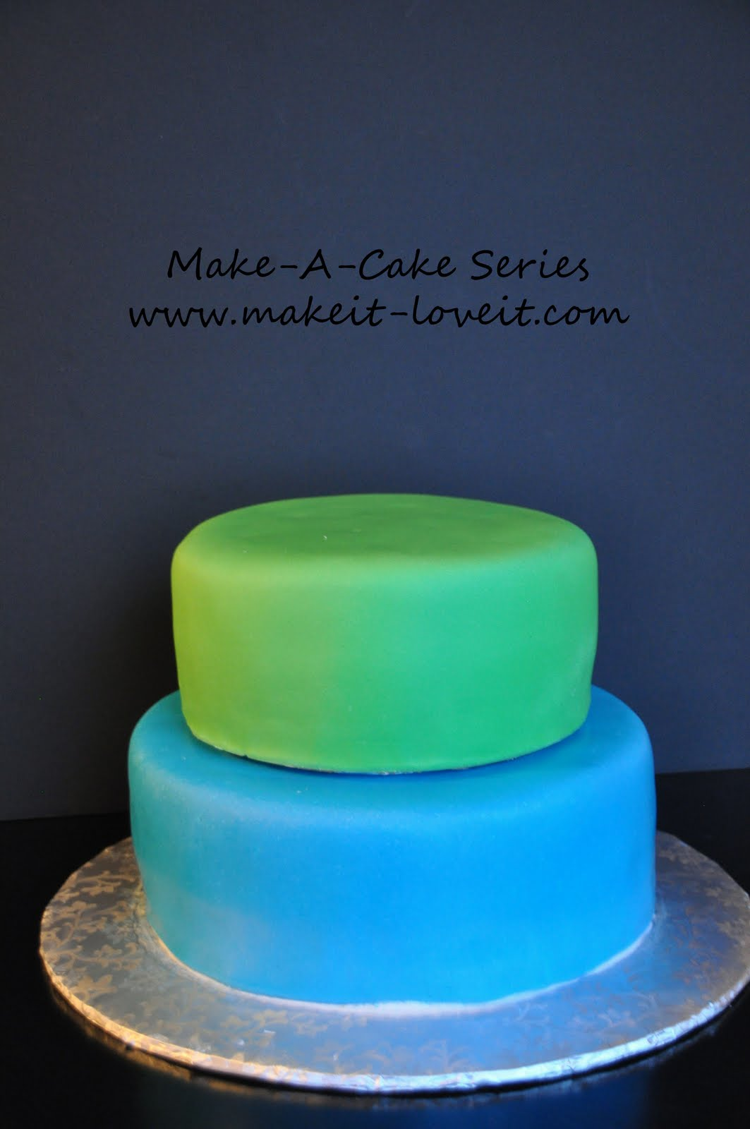 Make A Cake Series Filling And Stacking It Love