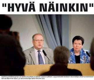 Hannes Manninen och Rakel Hiltunen