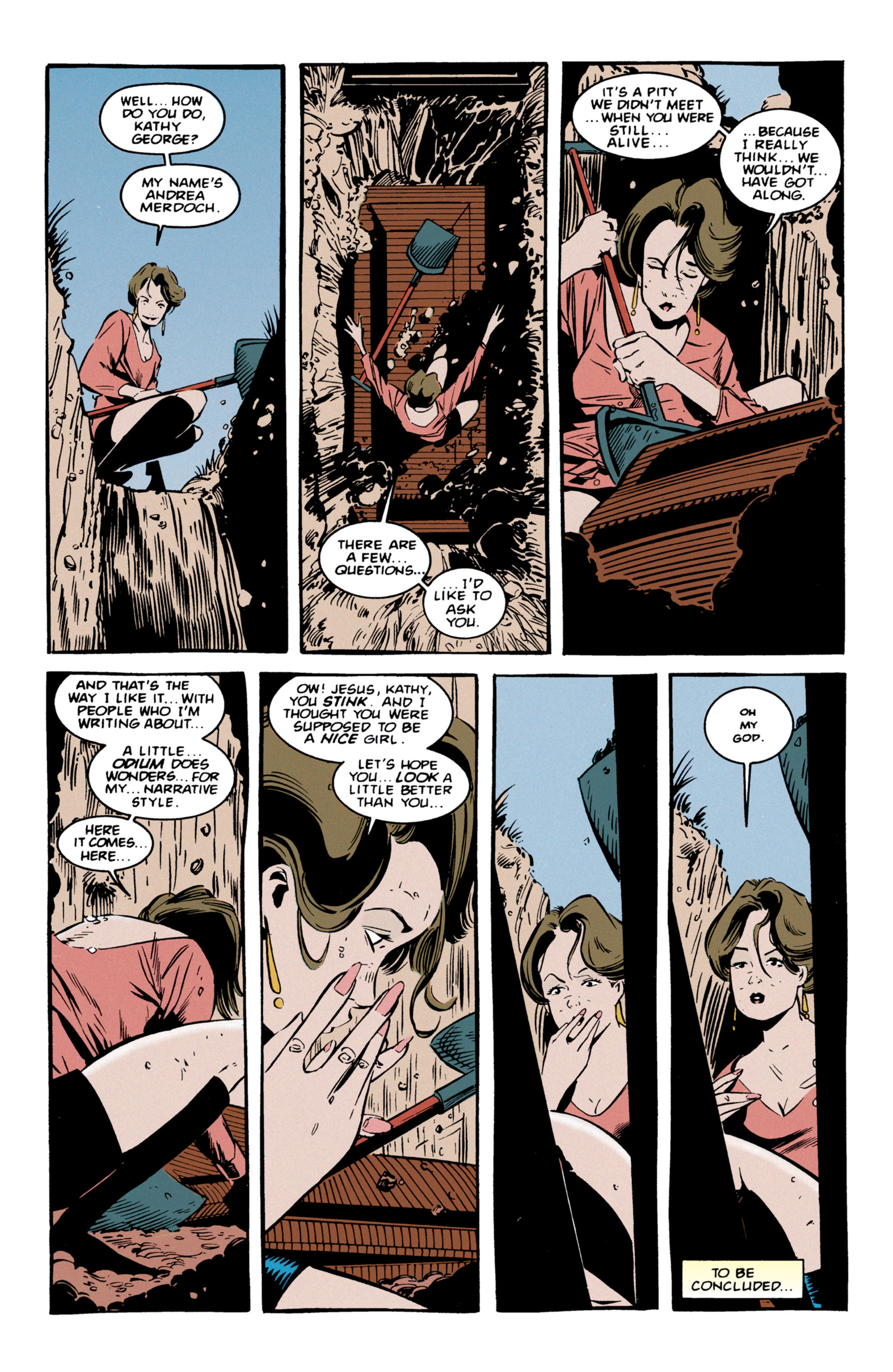 Read online Shade, the Changing Man comic -  Issue #56 - 25