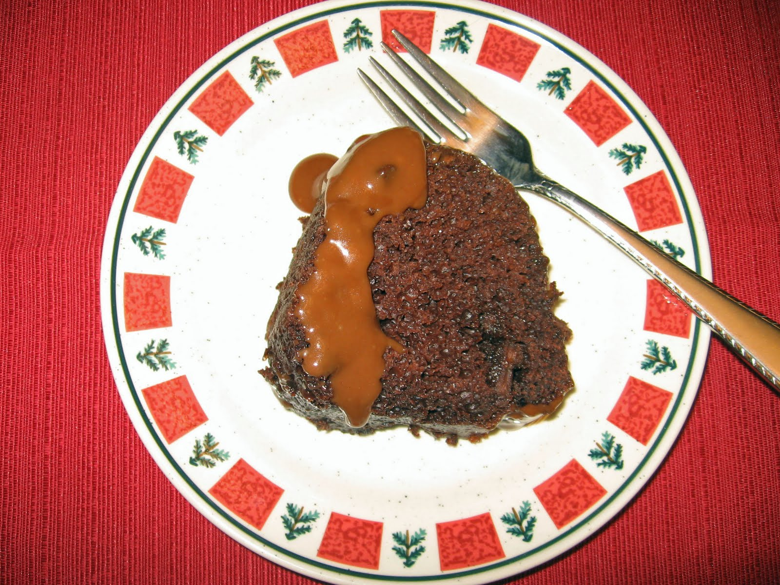 Salad Dressing Sheet Cake With Chocolate Fudge Icing