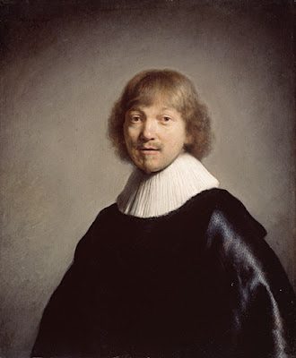 Jacob de Gheyn III by Rembrant, the world's most stolen painting